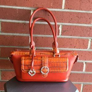 Brighton Burnt Orange Handbag